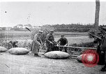 Image of rafts made of poles and canvas bags Belgium, 1915, second 9 stock footage video 65675027547