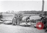 Image of rafts made of poles and canvas bags Belgium, 1915, second 11 stock footage video 65675027547