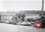 Image of rafts made of poles and canvas bags Belgium, 1915, second 12 stock footage video 65675027547