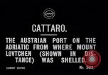 Image of Austrian port Cattaro Austria, 1915, second 5 stock footage video 65675027548