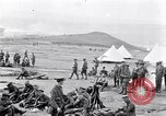 Image of British soldiers bivouacked Zeitenlik Salonika Greece, 1915, second 7 stock footage video 65675027549