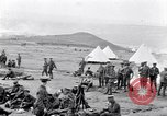Image of British soldiers bivouacked Zeitenlik Salonika Greece, 1915, second 8 stock footage video 65675027549
