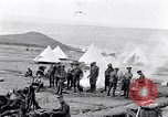 Image of British soldiers bivouacked Zeitenlik Salonika Greece, 1915, second 11 stock footage video 65675027549