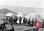 Image of British soldiers bivouacked Zeitenlik Salonika Greece, 1915, second 12 stock footage video 65675027549