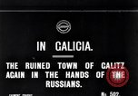 Image of War damage in Galicia Galicia Ukraine, 1914, second 3 stock footage video 65675027553