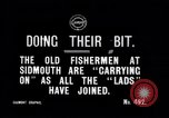 Image of Old fishermen Sidmouth England, 1916, second 5 stock footage video 65675027556