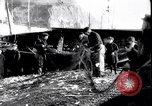 Image of Old fishermen Sidmouth England, 1916, second 7 stock footage video 65675027556