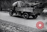 Image of transporting French artillery World War I Maurepas Yvelines France, 1917, second 4 stock footage video 65675027559
