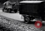 Image of transporting French artillery World War I Maurepas Yvelines France, 1917, second 6 stock footage video 65675027559