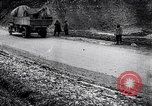Image of transporting French artillery World War I Maurepas Yvelines France, 1917, second 7 stock footage video 65675027559