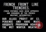 Image of French trenches during World War 1 France, 1917, second 4 stock footage video 65675027561