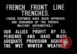 Image of French trenches during World War 1 France, 1917, second 5 stock footage video 65675027561