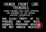 Image of French trenches during World War 1 France, 1917, second 6 stock footage video 65675027561