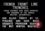 Image of French trenches during World War 1 France, 1917, second 8 stock footage video 65675027561
