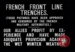 Image of French trenches during World War 1 France, 1917, second 10 stock footage video 65675027561