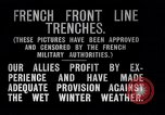 Image of French trenches during World War 1 France, 1917, second 11 stock footage video 65675027561