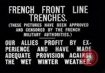 Image of French trenches during World War 1 France, 1917, second 12 stock footage video 65675027561