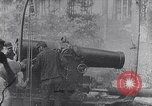 Image of French artillery soldiers fire 270mm howitzer World War 1 France, 1916, second 1 stock footage video 65675027562