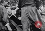 Image of French artillery soldiers fire 270mm howitzer World War 1 France, 1916, second 11 stock footage video 65675027562