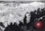 Image of French soldiers trench with corrugated metal cylinder World War I France, 1916, second 3 stock footage video 65675027565