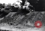Image of British tank destroys building end World War 1 United Kingdom, 1918, second 2 stock footage video 65675027567