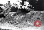 Image of British tank destroys building end World War 1 United Kingdom, 1918, second 3 stock footage video 65675027567