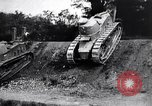 Image of British tank destroys building end World War 1 United Kingdom, 1918, second 10 stock footage video 65675027567