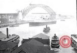 Image of Sydney Harbour Bridge under construction Sydney Australia, 1930, second 1 stock footage video 65675027569