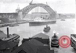 Image of Sydney Harbour Bridge under construction Sydney Australia, 1930, second 2 stock footage video 65675027569