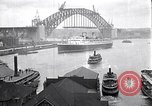 Image of Sydney Harbour Bridge under construction Sydney Australia, 1930, second 3 stock footage video 65675027569