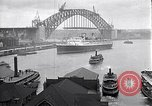 Image of Sydney Harbour Bridge under construction Sydney Australia, 1930, second 5 stock footage video 65675027569