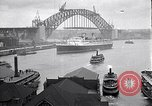 Image of Sydney Harbour Bridge under construction Sydney Australia, 1930, second 6 stock footage video 65675027569