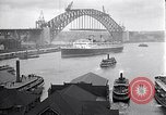Image of Sydney Harbour Bridge under construction Sydney Australia, 1930, second 8 stock footage video 65675027569