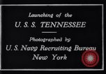 Image of Launching of USS Tennessee BB-43 New York United States USA, 1919, second 6 stock footage video 65675027598