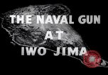 Image of Diagram of US Naval bombardment plan for Iwo Jima Iwo Jima, 1945, second 12 stock footage video 65675027603