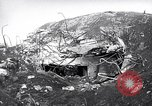 Image of Destroyed Japanese fortifications on Iwo Jima Iwo Jima, 1945, second 5 stock footage video 65675027606