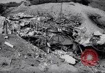 Image of Destroyed Japanese fortifications on Iwo Jima Iwo Jima, 1945, second 10 stock footage video 65675027606
