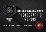 Image of crewmen United States USA, 1953, second 6 stock footage video 65675027611
