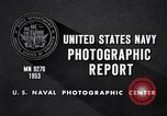Image of crewmen United States USA, 1953, second 7 stock footage video 65675027611