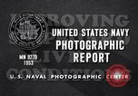 Image of crewmen United States USA, 1953, second 9 stock footage video 65675027611