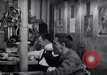 Image of Crewmen on ship United States USA, 1953, second 1 stock footage video 65675027613