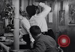 Image of Crewmen on ship United States USA, 1953, second 6 stock footage video 65675027613