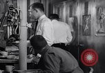 Image of Crewmen on ship United States USA, 1953, second 8 stock footage video 65675027613