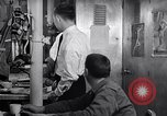 Image of Crewmen on ship United States USA, 1953, second 10 stock footage video 65675027613