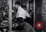 Image of Crewmen on ship United States USA, 1953, second 12 stock footage video 65675027613