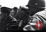 Image of Secretary of State, Cordell Hull, visits the Normandy beachhead Normandy France, 1944, second 2 stock footage video 65675027618