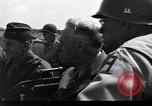 Image of Secretary of State, Cordell Hull, visits the Normandy beachhead Normandy France, 1944, second 3 stock footage video 65675027618