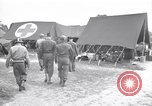 Image of Cordell Hull visiting wounded U.S. soldiers at a field hospital Normandy France, 1944, second 4 stock footage video 65675027620