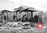 Image of U.S. Marines in improvised shelters  Saipan Northern Mariana Islands, 1944, second 9 stock footage video 65675027622