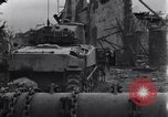 Image of American tanks on streets of St Lo Saint Lo France, 1944, second 3 stock footage video 65675027626